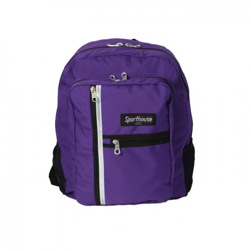 Sporthouse Secondary School Bag Purple 42 Litre