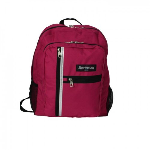 Sporthouse Secondary School Bag Pink 42 Litre