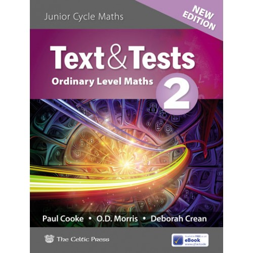 Text & Tests 2 Project Maths Ordinary Level NEW EDITION
