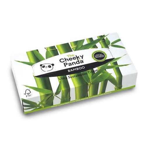 Cheeky Panda Flat Facial Tissues pack 12 - 100% Environmentally Friendly