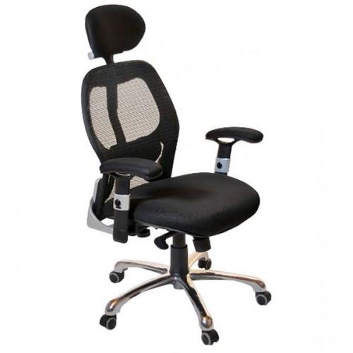 Ergonomic 24 Hour High Back Black Mesh Chair