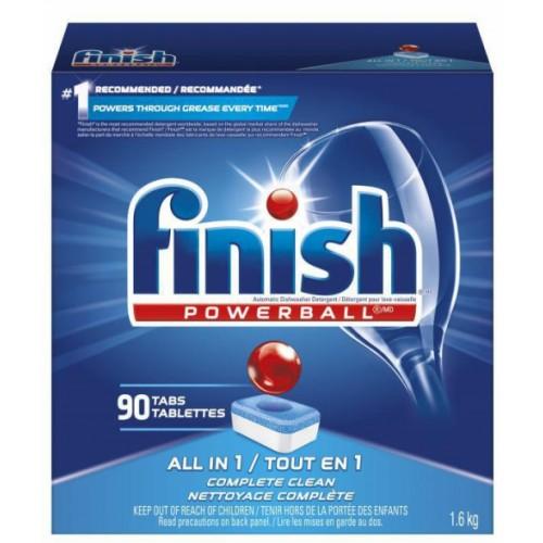 FINISH POWERBALL DISHWASHER TABS PK 90
