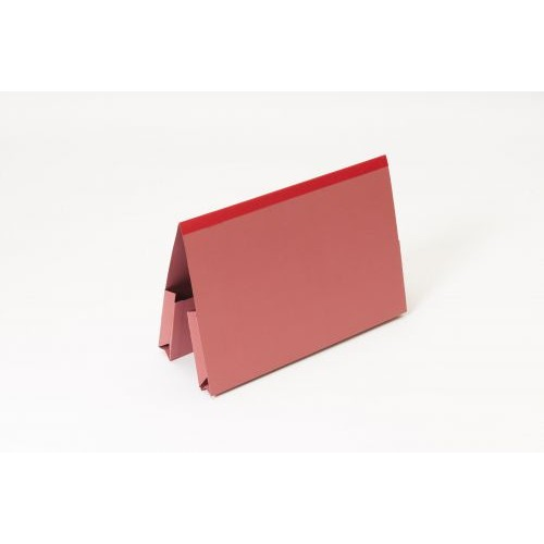 DOUBLE POCKET LEGAL WALLET RED BX25