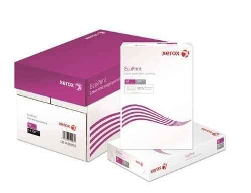Xerox A4 paper - Boxed in 5 reams of 500 sheets