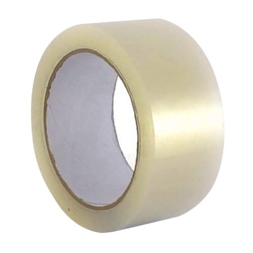 Tannas Low Noise Packaging Tape Clear 50mmx66M