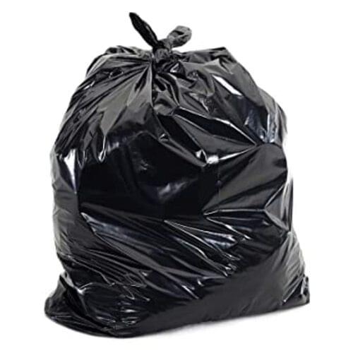 Black Refuse Sacks packed 100 - 180g Med Duty
