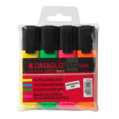 Tannas Assorted Highlighter Pens (Pack of 4)