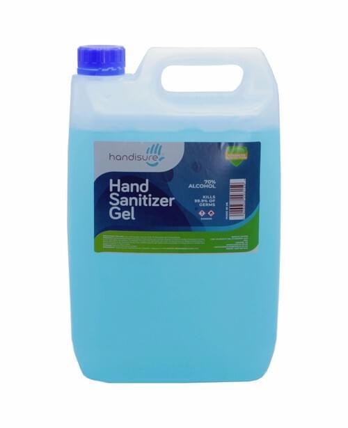 Tannas Hand Sanitiser Gel 70% 5L