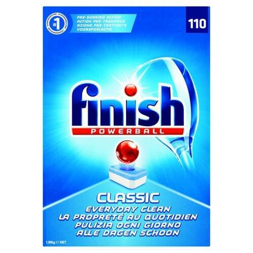 Finish Powerball Classic Dishwasher Tablets PK110