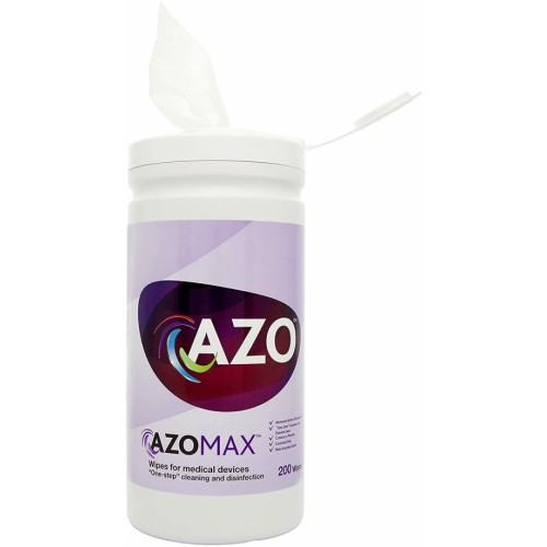 AzoMax™ Cleaning & Disinfection Wipes 200