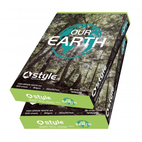Our Earth Paper A4 80gsm White