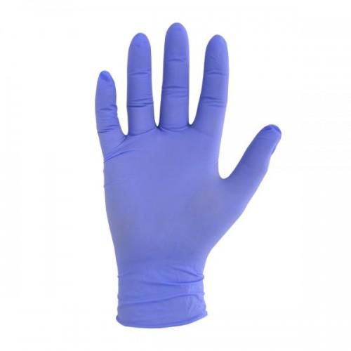 Powder-Free Blue Nitrile Examination Gloves Large (EN455)