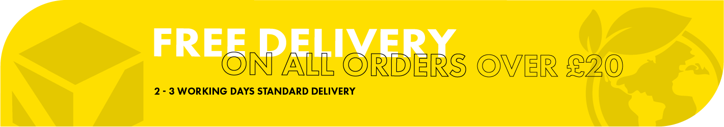 Free Delivery over \u00a320 advert