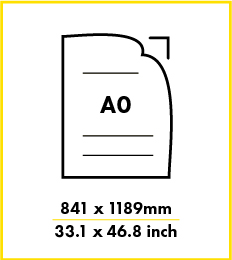 Paper A0 size