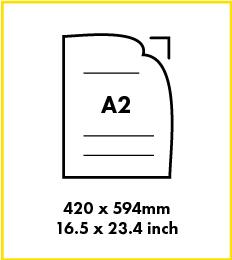 Paper A2 size