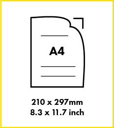 Paper A4 size