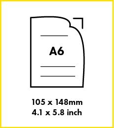 Paper A6 Size