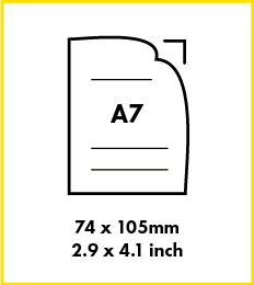 Paper A7 Size