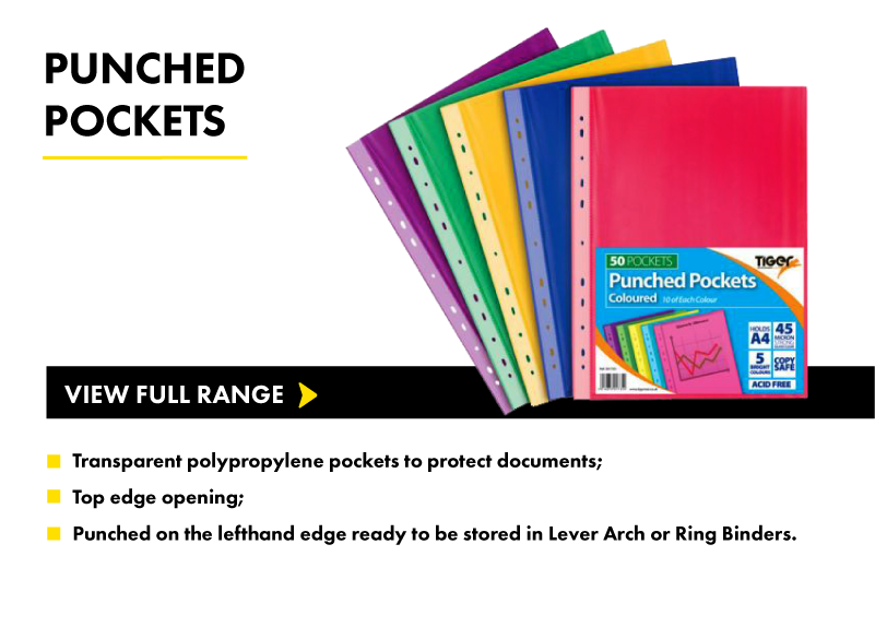 Puunched Pockets
