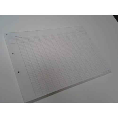 Audit Pad A3 15 Column A315WT