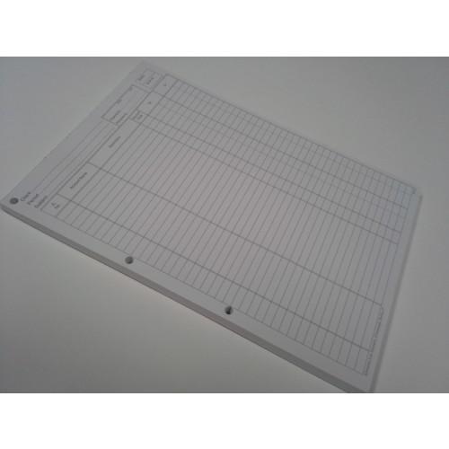 Audit A4 Journal Pad