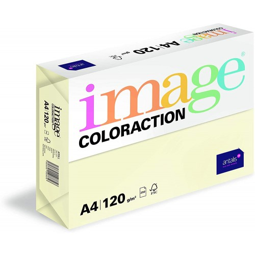 Image Coloraction Pale Ivory (Atoll) A4 100gm, 2500 sheets per pack