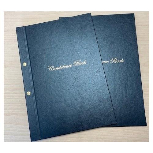 Condolence Book Cover Set