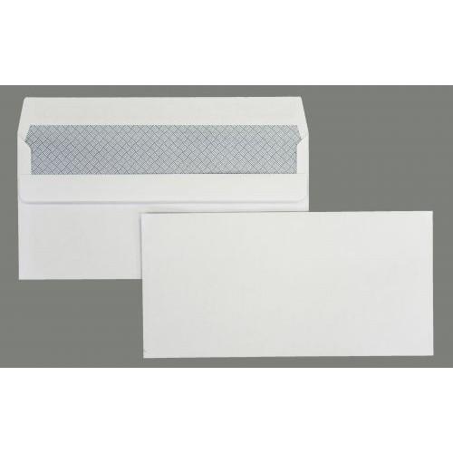 TKS DL White Envelope Self-seal  (Pack of 500) TKSP