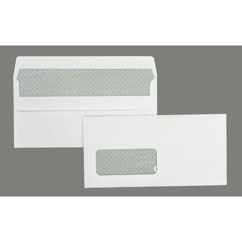 TKS DL white window envelope self-seal (pack of 500) TKSW