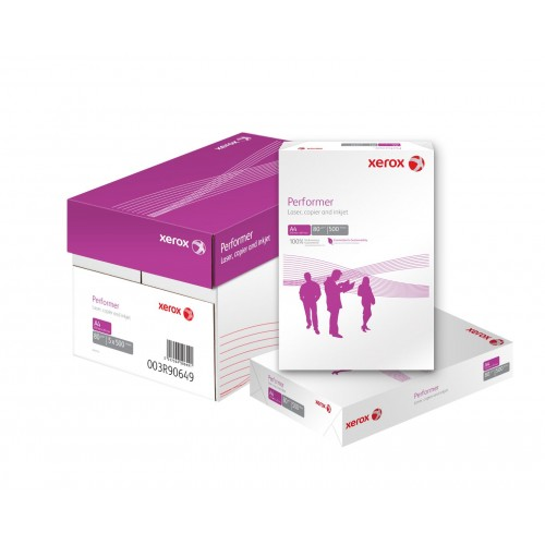 Xerox Performer White A4 Paper 80gm 10 Case offer