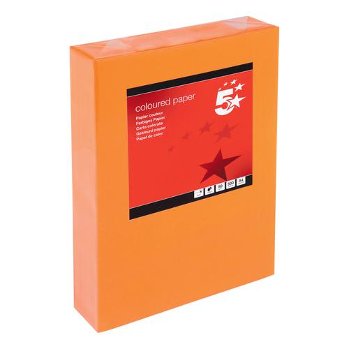 A4 Assorted colours packs of 500 sheets