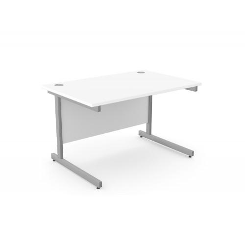 Ashford Straight Office Desk with Metal Legs