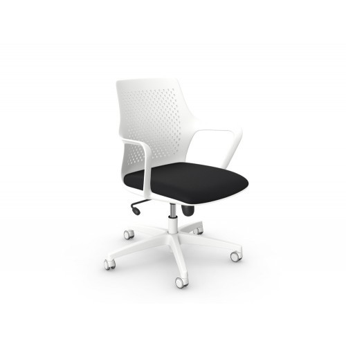 Gemina Task Chair with 5-Star Base and Castors