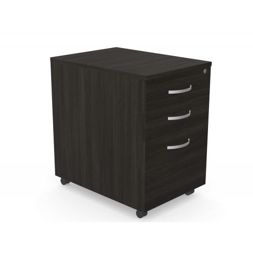 Kito 3-Drawer Mobile High Pedestal