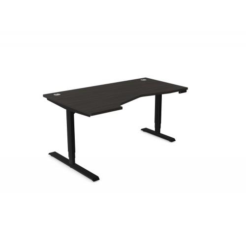 Leap Electric Height Adjustable K Top Desk