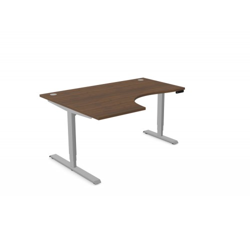 Leap Electric Height Adjustable Radial Desk