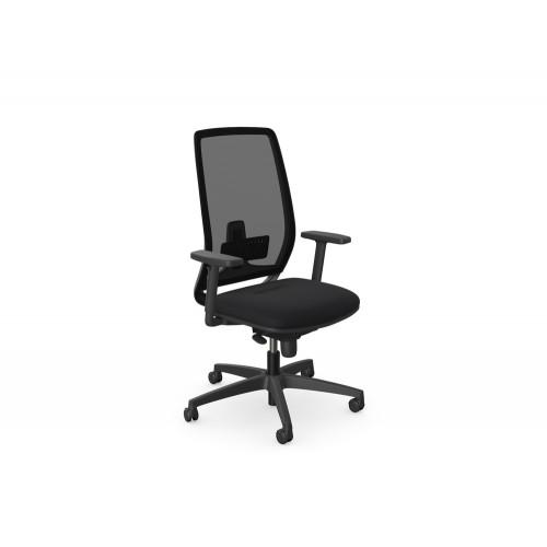 Lira Task Operator Chair with Black Frame