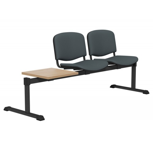OI Series Bench with Table with Upholstered Backrest