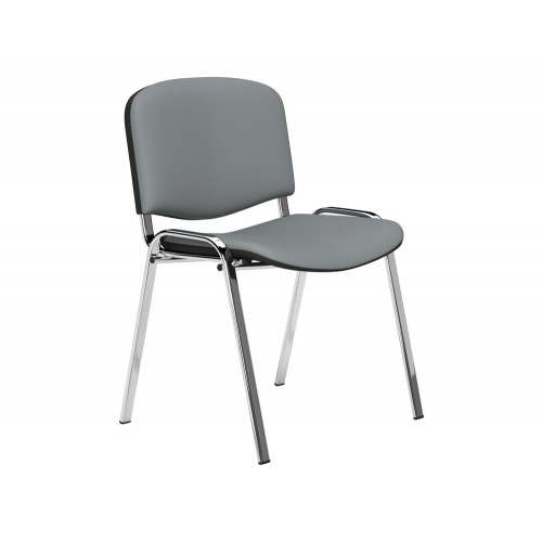 OI Series Stackable Meeting Chair with Chrome Frame