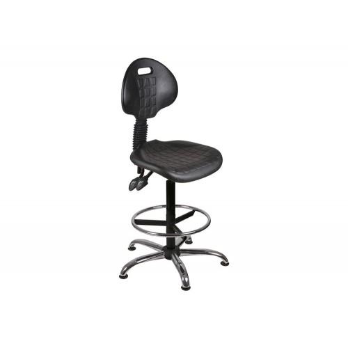 OL Series High Rise PU Static Swivel Chair