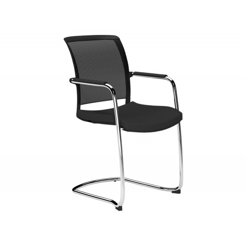 OZ Series Mesh Back Cantilever Chair