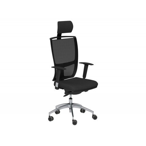OZ Series Mesh Back Swivel Chair with Headrest and Variable Arms