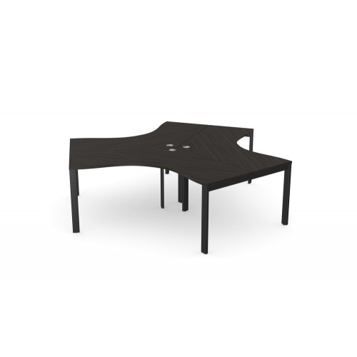 Switch 120 Degree 3 Person Bench with Open Leg