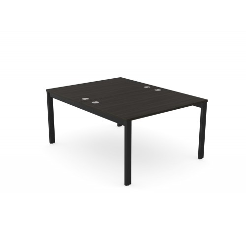 Switch 2 Person Bench Desk with Open Leg