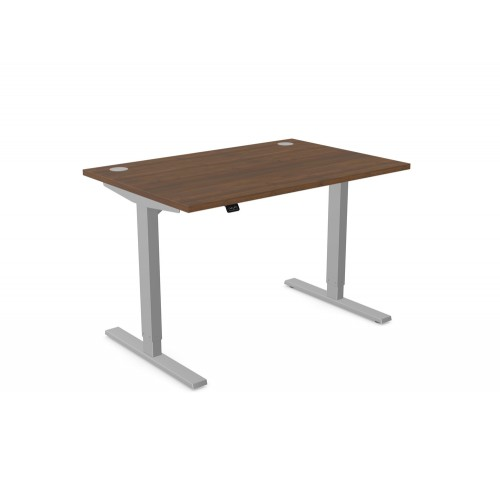 Zoom Electric Height Adjustable Single Sit-Stand Desk