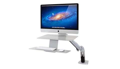 Sit-Stand Desk Mounts