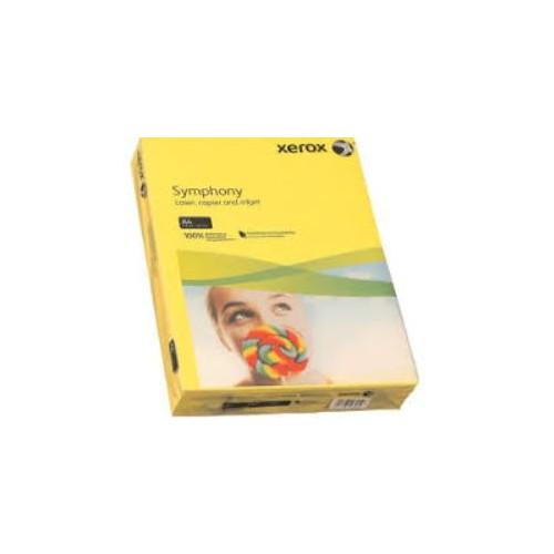 Xerox Symphony Copier Paper  80gm  Yellow  A4. Ream of  500 Sheets