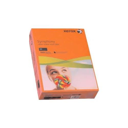 Xerox Symphony Copier Paper  80gm  Orange  A4. Ream of  500 Sheets