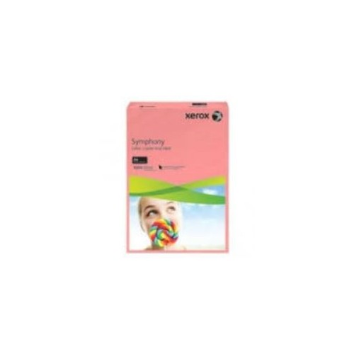 Xerox Symphony Pastel Salmon Copier Paper 80gm  A4. Ream of 500 Sheets