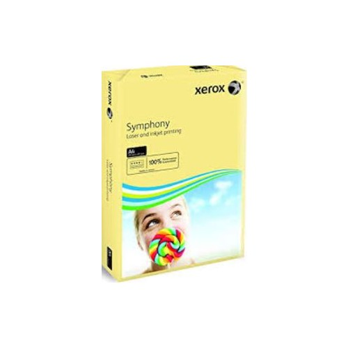 Xerox Symphony Copier Paper A4 80gm  Ivory.  Ream of 500 Sheets